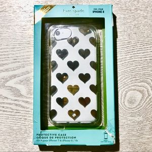 Kate Spade ♠️ NWT cell phone case iPhone 7 6/6s 8